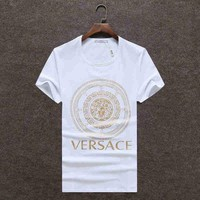 VERSACE Women Man Fashion Print Sport Shirt Top Tee Tagre™