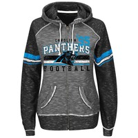 Majestic Carolina Panthers Tame the Tide Fleece Hoodie - Women's, Size: