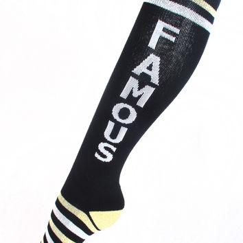 Famous & Rich Athletic Socks - 50% OFF