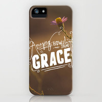 Amazing Grace iPhone & iPod Case by Lauren Boebinger