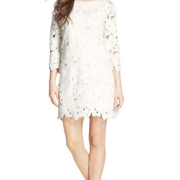 Felicity & Coco Belza Floral Lace Shift Dress (Nordstrom Exclusive) | Nordstrom