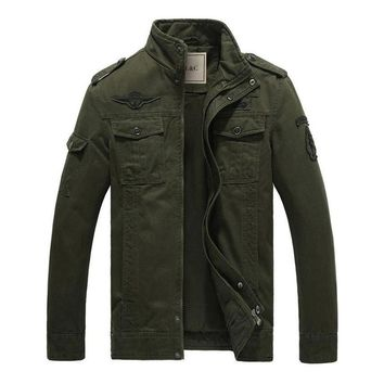 The Maverick Jacket Olive