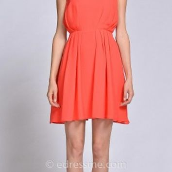 Amelia Halter Day Dress by EDM Private Collection