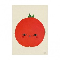 Tomato Poster - ROOM - Products : Fawn Shoppe - Global Boutique For Unique Children's Designs