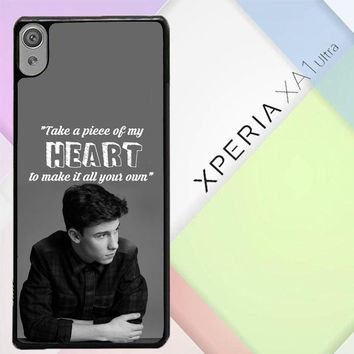 Shawn Mendes Song Z4457 Sony Xperia XA1 Ultra Case