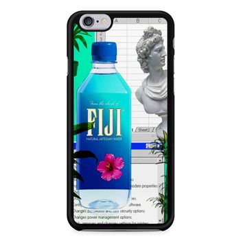 Fiji Water Vaporwave iPhone 6/6s Case