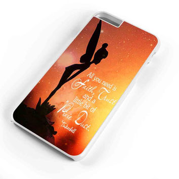 Tinkerbell Quote Galaxy All You Need Is A Little Pixie Dust  iPhone 6s Plus Case iPhone 6s Case iPhone 6 Plus Case iPhone 6 Case