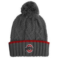 Nike Ohio State Buckeyes Ladies Better Knit Beanie - Gray