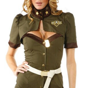 Army Cosplay Costume Set