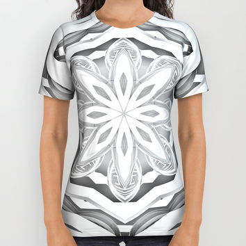 Mandala All Over Print Shirt by Knm Designs