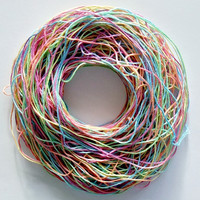 Pastel Rainbow Hand Dyed Cotton Embroidery Floss