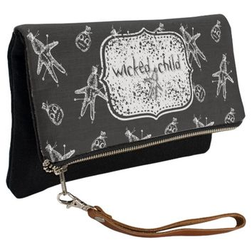Wicked Child Voodoo Doll Clutch