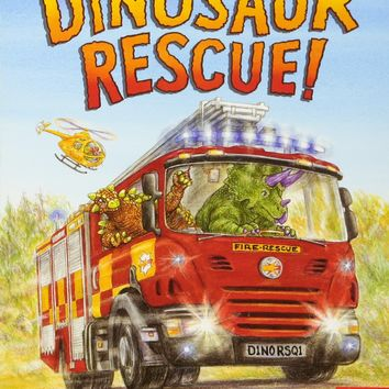 Dinosaur Rescue! Board book – January 5, 2016
