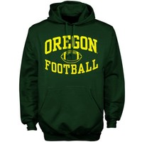 Oregon Ducks Green Reversal Football Hoodie Sweatshirt