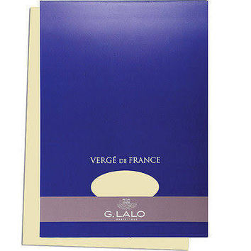 G. Lalo Verge de France A4 (8.27 X 11.69) Tablet - Ivory
