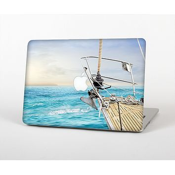 The Vibrant Ocean View From Ship Skin for the Apple MacBook Air 13""