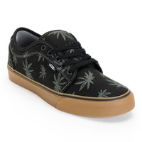 Vans Chukka Low Palms Black, Charcoal, & Gum Skate Shoes
