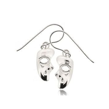PHANTOM OF THE OPERA MASK EARRINGS
