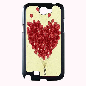 heart balloon FOR SAMSUNG GALAXY NOTE 2 CASE**AP*