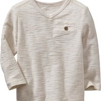 Old Navy V Neck Pocket Tees For Baby