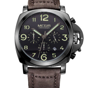 Megir Low-Fly Chrono (Black)