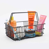 Bathroom Storage Caddy Crate in Black - Urban Outfitters