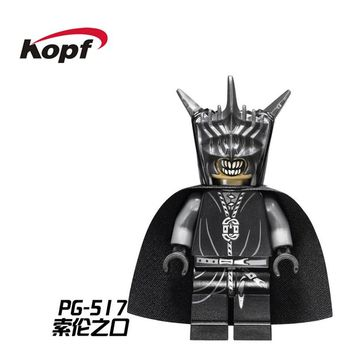 Mouth of Sauron Lord of the Rings Figures Witch-king RingWraith Bricks Action Buiding Blocks Children Toys PG517