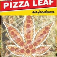 Skate Mental Pizza Leaf Air Freshener