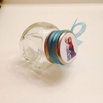 12 Disney Frozen Theme Birthday Party Candy Jar Favors