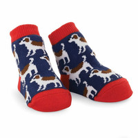 MUD PIE PUPPY SOCKS
