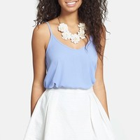 Frenchi Jacquard Skater Skirt (Juniors)