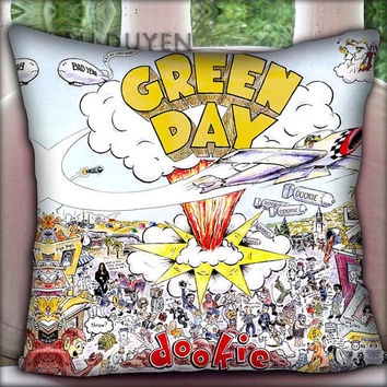 Green Day Dookie - Pillow Cover Pillow Case and Decorated Pillow.