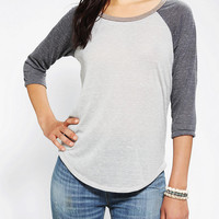 Urban Outfitters - Alternative Speckle Raglan Tee