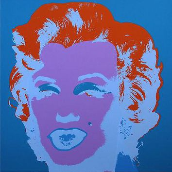 Marilyn #29 (Sunday B. Morning), Silkscreen, Andy Warhol