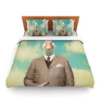 "Natt ""Passenger 15A"" Duck Fleece Duvet Cover"