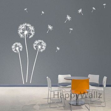 Dandelion Wall Sticker Modern Dandelion Wall Decal Vinyl Wall Decorative Dandelion Wallpaper Hot Sale Free Shipping F59