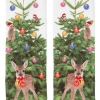 Monki | View all new | Cissi sock Christmas Tree