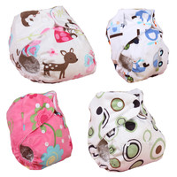 Hot Sales Baby Cloth Diapers Reusable Baby Nappies Waterproof  Infant  Ajustable Nappies DiapersWinter Summer Style