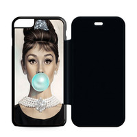 Audrey Hepburn Tiffany Blue Flip Case iPhone 6 | iPhone 6S | iPhone 6S Plus  Case