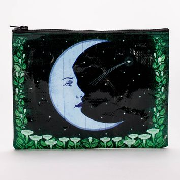 Crescent Moon Zipper Pouch