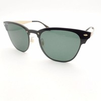 Kalete Ray Ban 3576 N 043/71 Brushed Gold Green 47mm Sunglasses Authentic