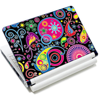 "Colorful 12"" 12.6"" 13"" 13.3"" 14"" 14.1"" 14.4"" 15"" 15.4"" 15.6"" Inch Notebook Laptop Skin Netbook Sticker Cover Decel Protector"