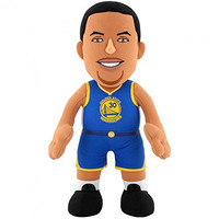 "NBA Golden State Warriors Stephen Curry Plush Figure, 10"", Royal Blue"
