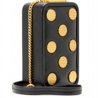 mytheresa.com -  Marc by Marc Jacobs - LEATHER IPHONE BOX DOTS - Luxury Fashion for Women / Designer clothing, shoes, bags