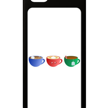 Cute Holiday Drink Set - Christmas iPhone 5 / 5S Grip Case