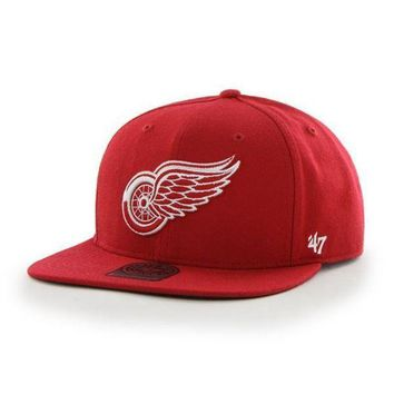 ONETOW NHL Detroit Red Wings The Shaft Strapback Hat