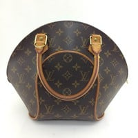 AUTH Louis Vuitton Monogram Canvas leather Ellipse PM HandBag