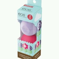 2-pack EOS Lip Balm Spring Edition Watermelon and Passion Fruit