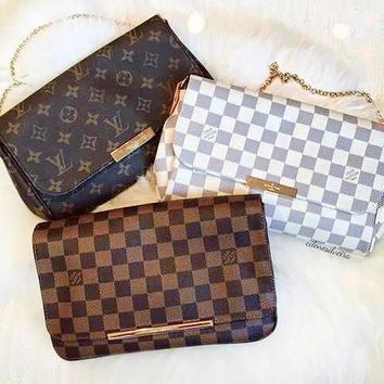 LV Louis Vuitton Hot Sale Women Leather Satchel Shoulder Bag Handbag Crossbody