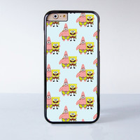 Spongebob and Patrick Collection  Plastic Case Cover for Apple iPhone 6S 6S Plus 6 6 Plus 4 4s 5 5s 5c